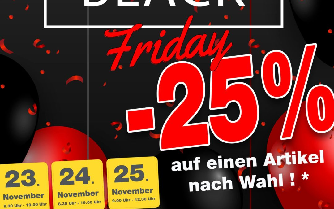 Black Friday Brico Sankt Vith