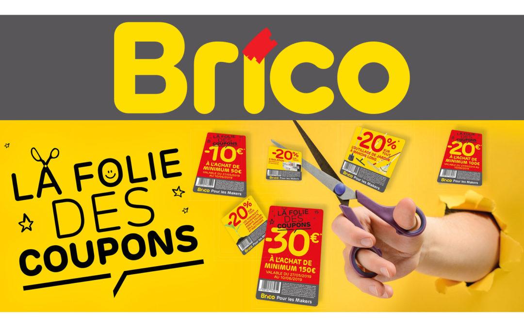 Der Wahnsinn der Gutscheine kommt bei Brico an