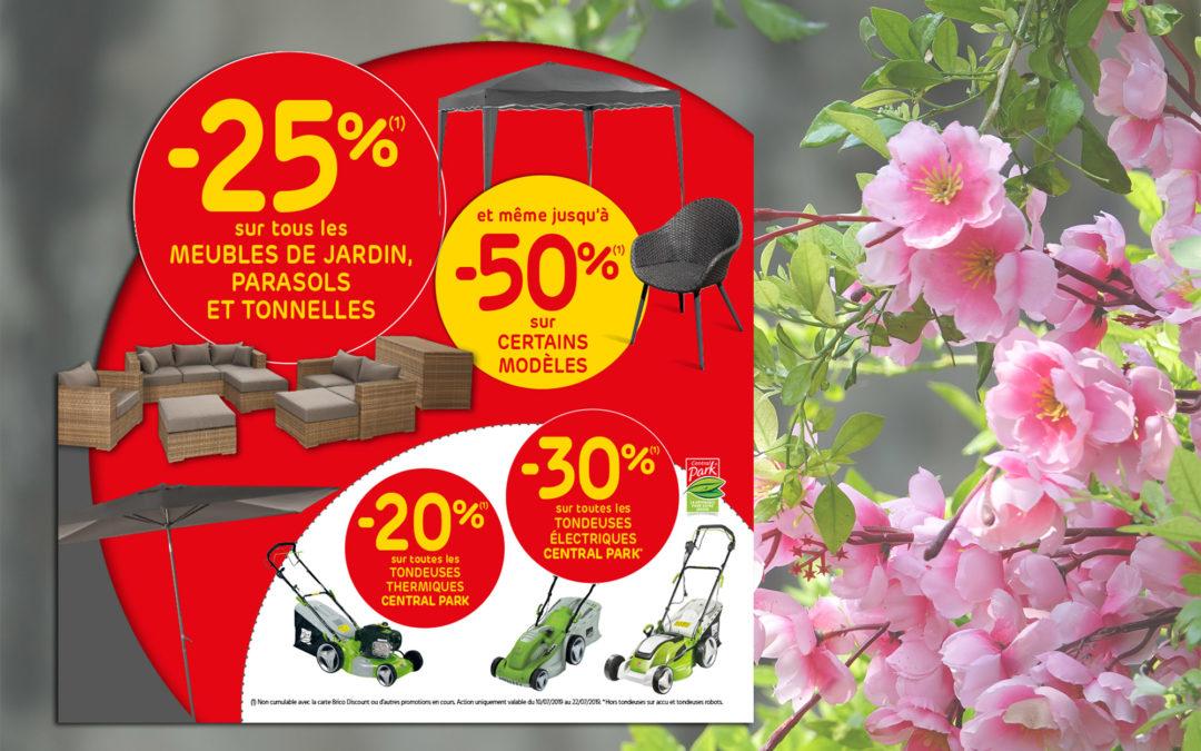 Profitieren Sie von -25% auf alle Gartenmöbel