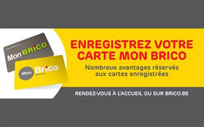 Profitieren Sie auf unseren Angeboten mit der MonBrico Karte