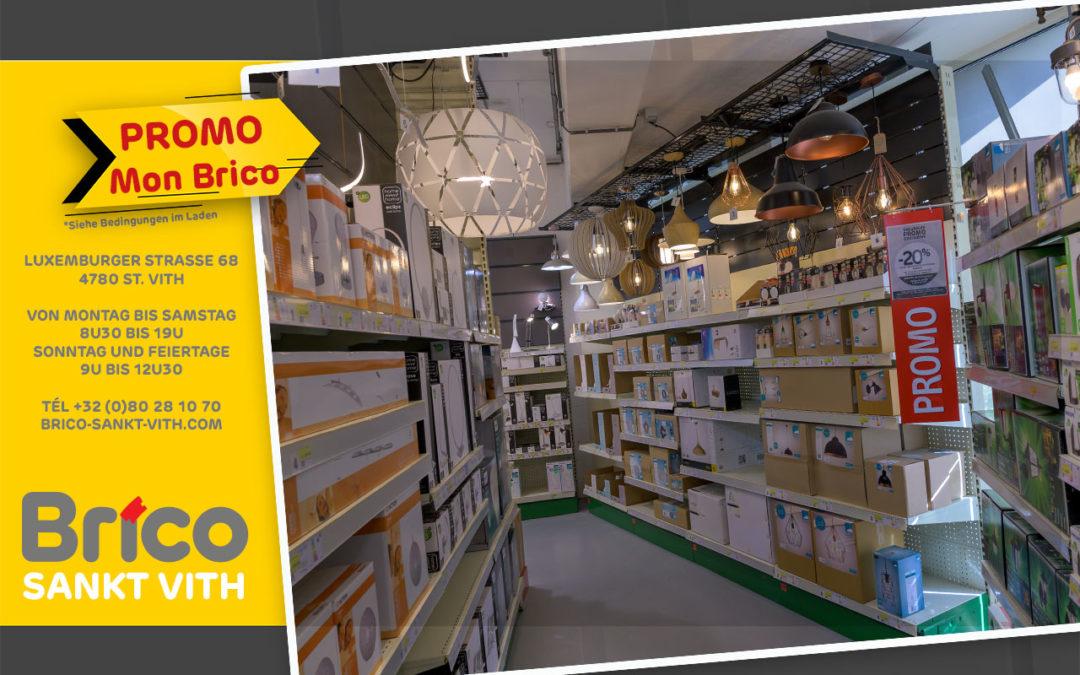 Profitieren Sie von unseren Angeboten mit der Karte MonBrico*