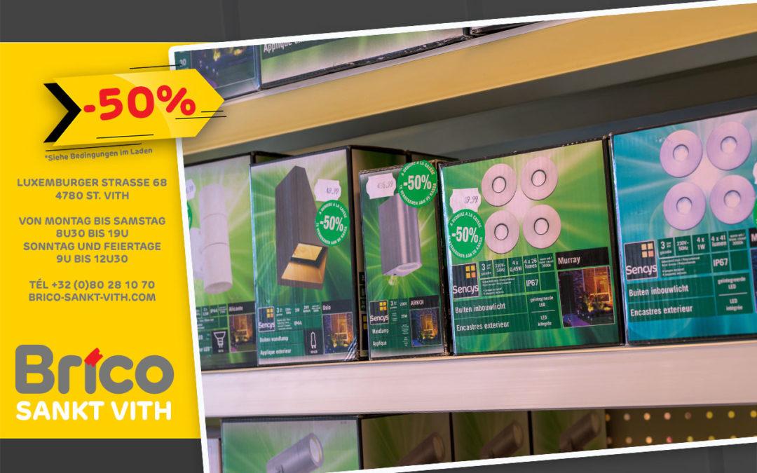 Profitieren Sie von unseren Angeboten* -50%