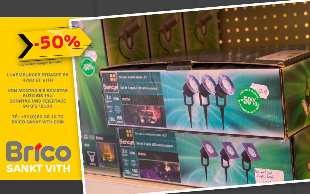 Profitieren Sie von unseren Angeboten – 50%*