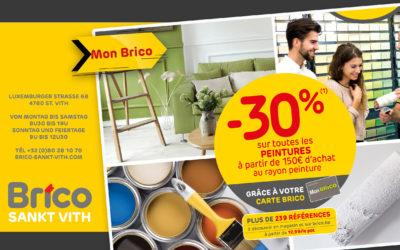 Profitieren Sie von einem Rabatt von -30% auf alle Gemälde *
