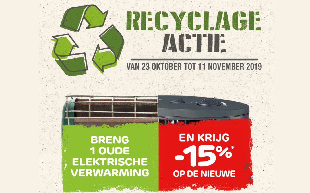 Recyclage actie