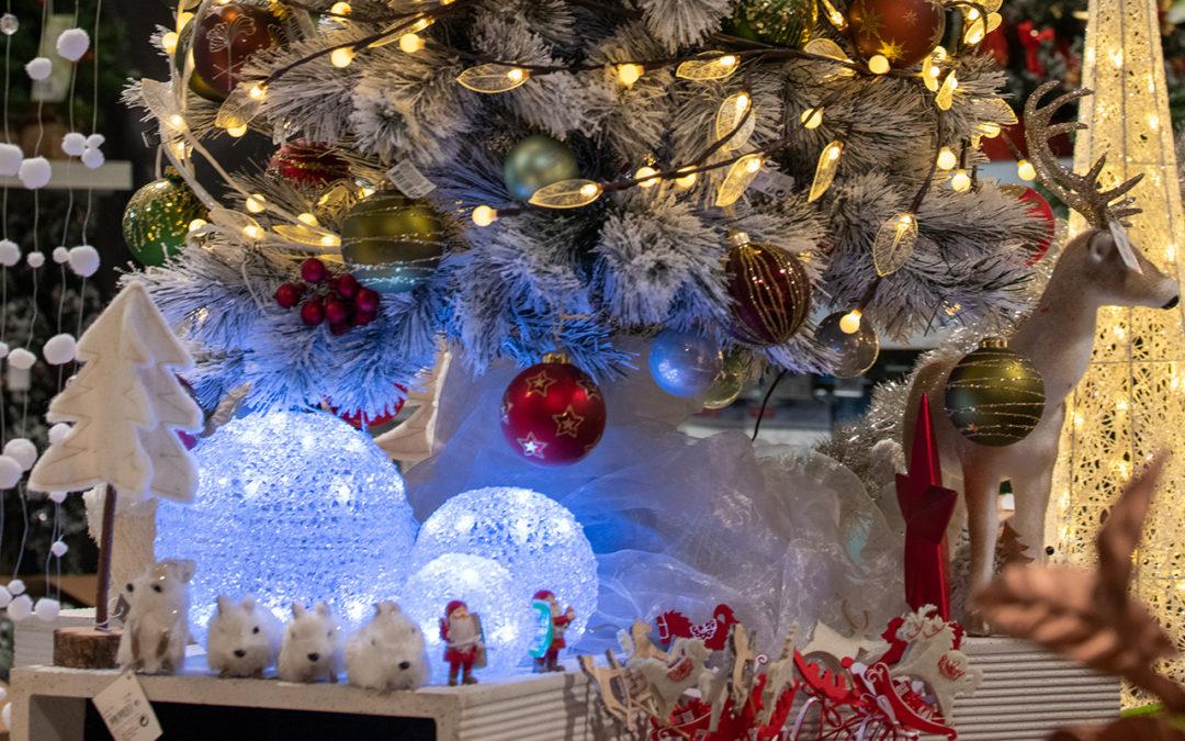 Der Weihnachtsmarkt ist geöffnet