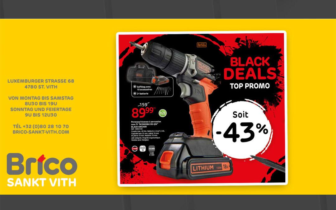 Offre promo Black Deals