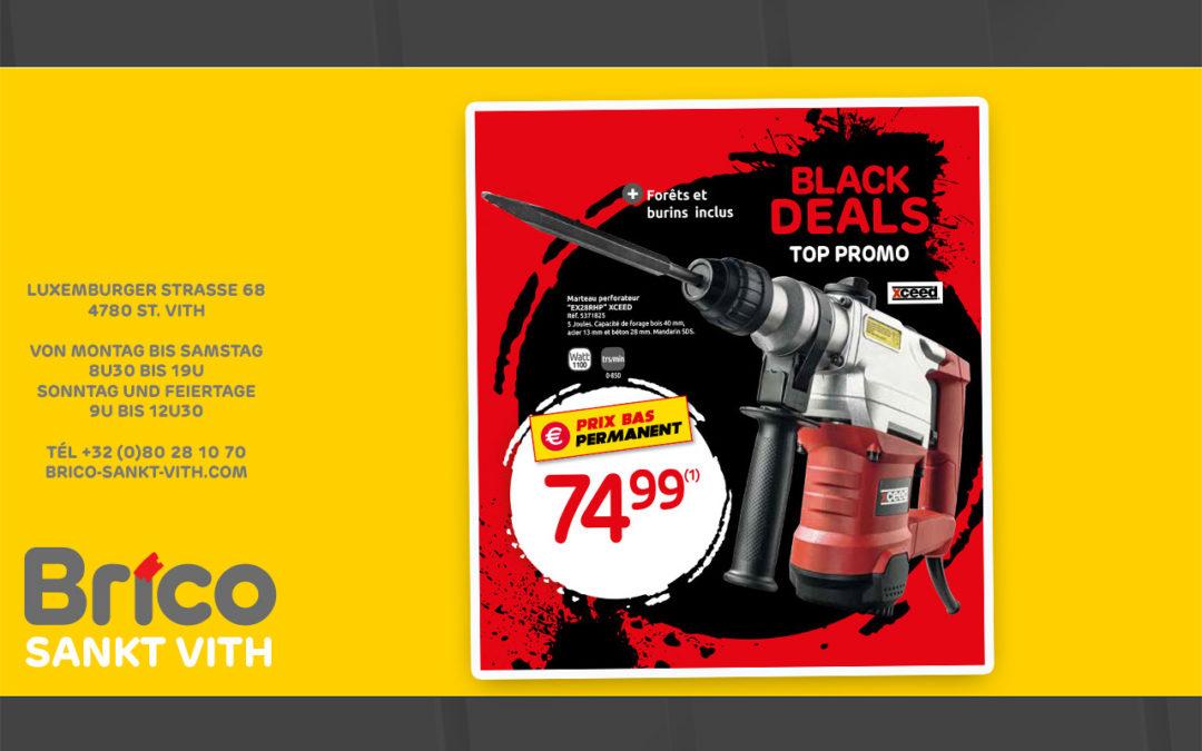 Black Deals Angebote bei Brico St Vith