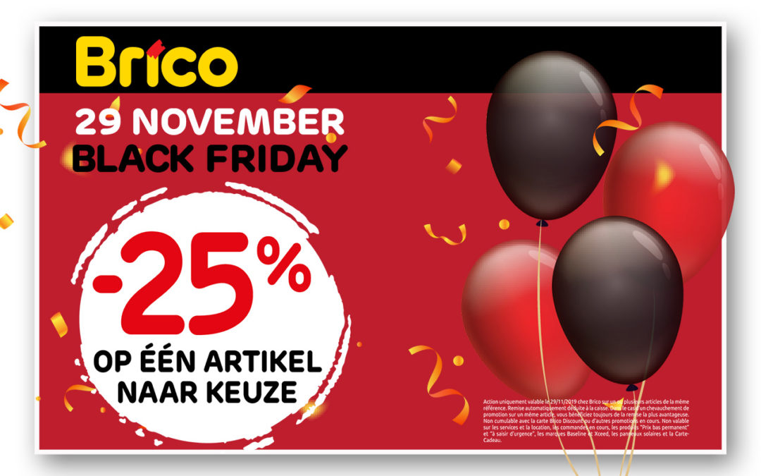 Black Friday actie
