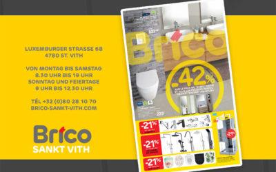 Profitieren Sie von unsere Angebote im Brico St Vith