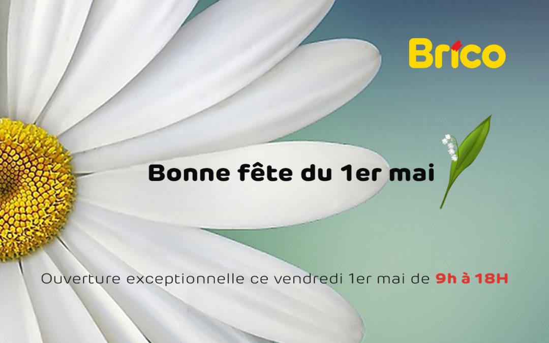 ouverture 1er mai Brico St vith