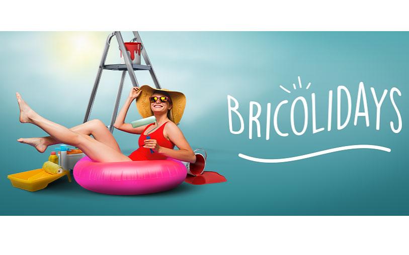 Wettstreit BRICOLIDAYS, die Herausforderung von diesem Sommer!