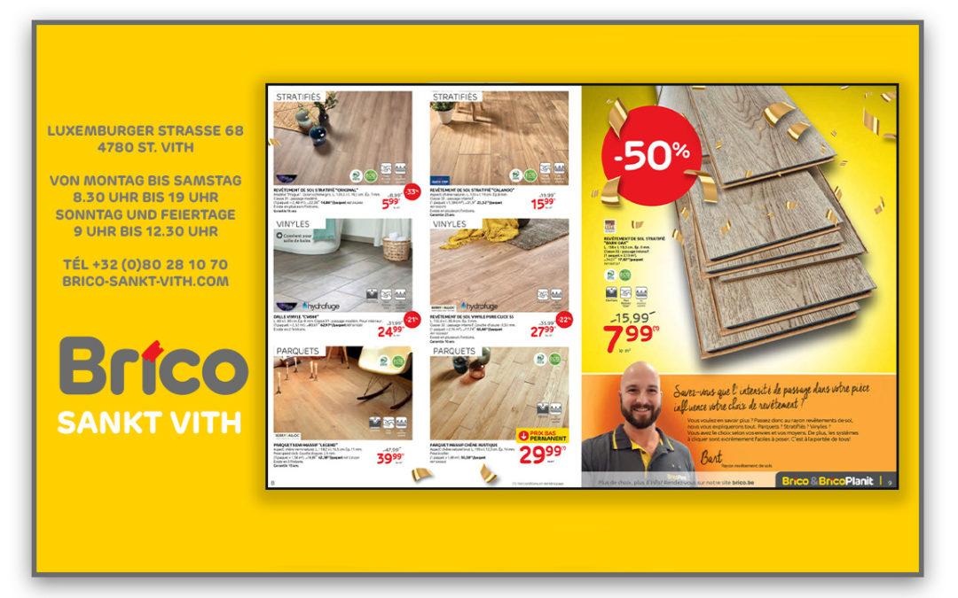 Profitieren Sie von unseren Angeboten auf die Fußböden*