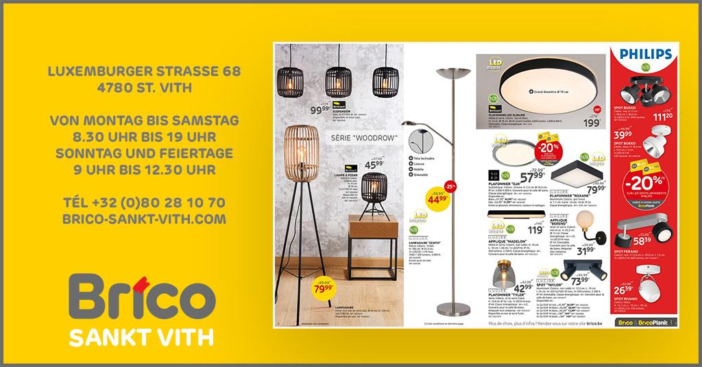 Profitieren Sie von unseren Angeboten auf die Lampen. Dank der 'MonBrico' Karte, profitieren Sie von unseren Angeboten :