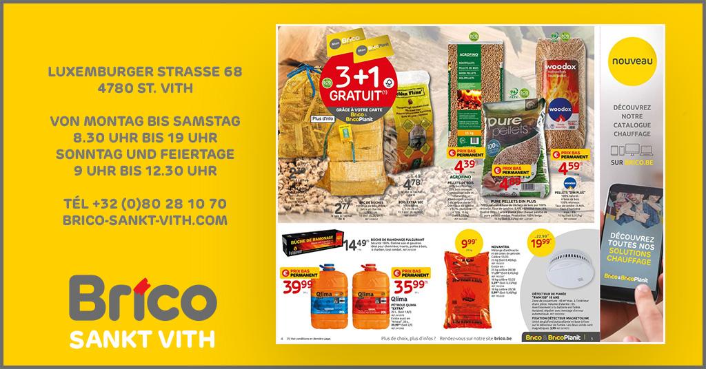 Profitieren Sie von unseren Angeboten dank der 'MonBrico' Karte. 2+1 Gratis* auf die Säcke mit Anzündholz, Brennholz und extra trockenes Holz.