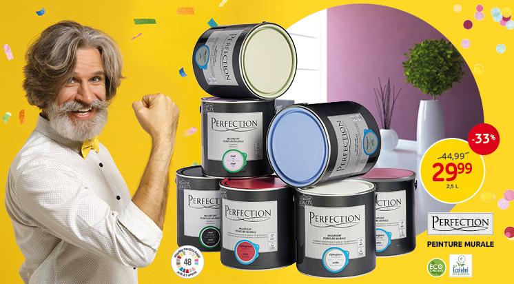 Profitieren Sie von unser Angebot auf die Wand- und Deckenfarben