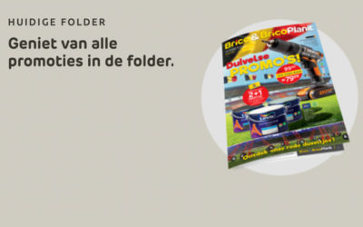 Nieuwe folder geldig van 26/05 tot 14/06/2021